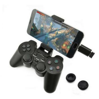 Беспроводной геймпад для ПК и Android с передатчиком 2.4GHz