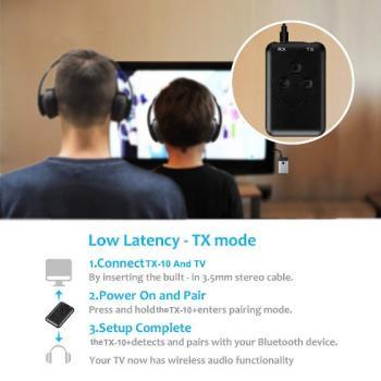 Bluetooth аудио адаптер (ресивер + трансмиттер) 2 в 1
