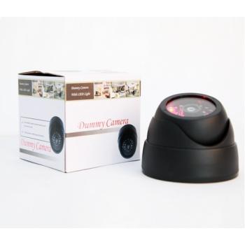 Муляж купольной камеры видеонаблюдения с вращающимся объективом