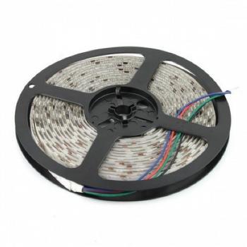 Влагостойкая светодиодная лента RGB 2835, 44 режима - 5 метров