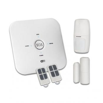 Умная охранная WiFi GSM сигнализация c поддержкой Google Assistant