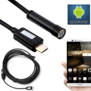 USB Эндоскоп для смартфона и компьютера 7mm