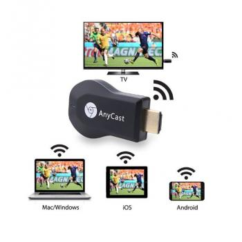 Беспроводной ТВ HDMI адаптер AnyCast M4 Plus/ Mirascreen