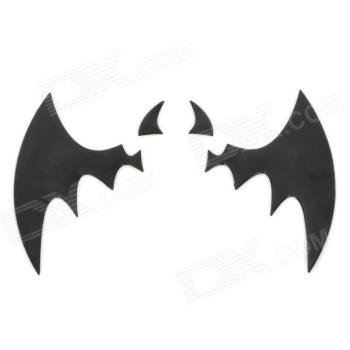 3D наклейка на логотип Бэтмен