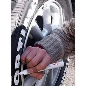 Маркер для шин (колес) белый