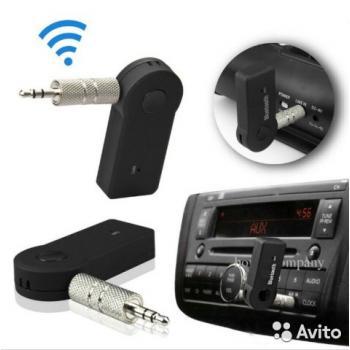 Беспроводной Bluetooth адаптер AUX с микрофоном