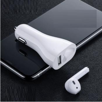 Bluetooth гарнитура с автомобильной зарядкой