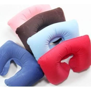 Надувная дорожная подушка для шеи
