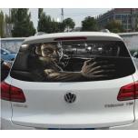 Тонировочные художественные наклейки на автомобиль