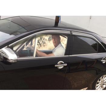 Тонировочные художественные наклейки на боковое стекло автомобиля