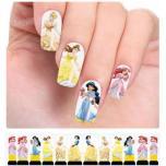 Водные переводные наклейки на ногти - Слайдер дизайн