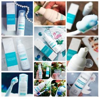 Мусс для чистки и отбеливания зубов Baimiss