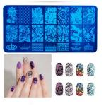 Трафареты, пластины для стемпинга ногтей