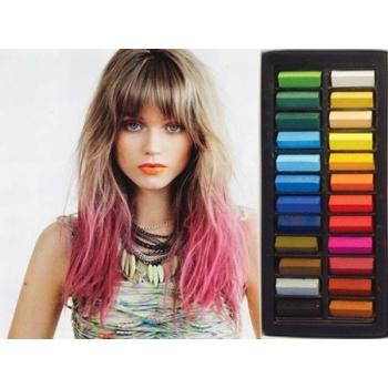 Мелки для волос цветные