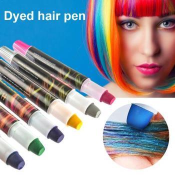 Фломастеры для волос цветные
