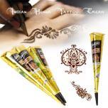 Индийская хна для временных татуировок, хна для мехенди
