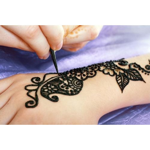 Как сделать татуировку в домашних условиях из хны