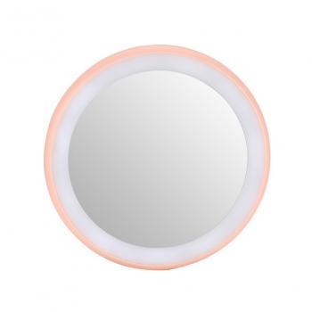 Карманное зеркало для макияжа с подсветкой