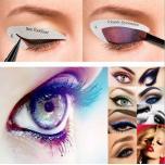 Трафареты для макияжа глаз, 4шт