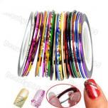 Лента самоклеющаяся Nail Art для дизайна ногтей
