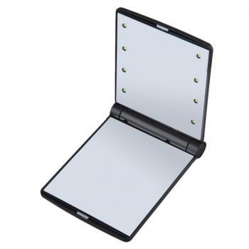 Карманное зеркальце с LED подсветкой