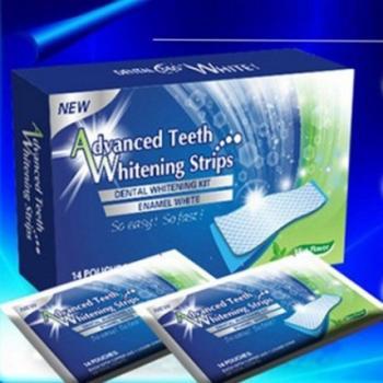 Полоски для отбеливания зубов Teeth Whitening Strips (14шт)