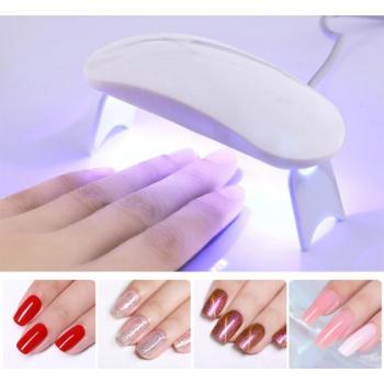Мини УФ Led лампа от USB для cушки ногтей гель-лака