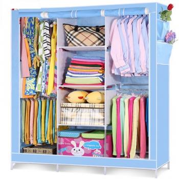 Шкаф-гардероб тканевый складной 130см*45см*170см