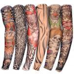 Красивые тату рукава мужские цветные, черно-белые