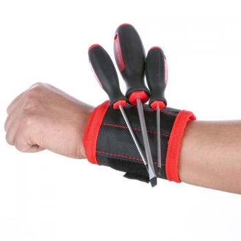 Магнитный пояс браслет на руку для монтажника