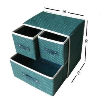 Складной выдвижной шкафчик для хранения белья