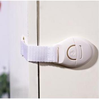 Защита от детей на шкафчики - замки на липучках