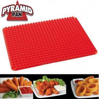 Коврик для выпечки с пирамидками силиконовый