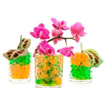 Аквагрунт для растений (3шт, микс из 3х цветов)