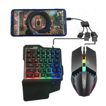 Клавиатура, мышь и OTG хаб для игры PUBG Mobile