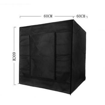 Фотобокс для предметной съемки Lightbox 60x60x60см с LED лампами