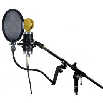 Стойка держатель для микрофона с поп-фильтром