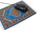 Коврик для компьютерной мыши в виде персидского ковра