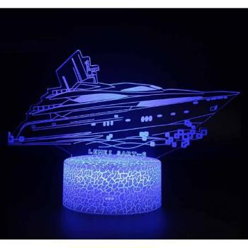 3D светильник Катер