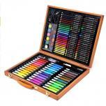 Набор для рисования в деревянном кейсе Art Set (150 предметов)