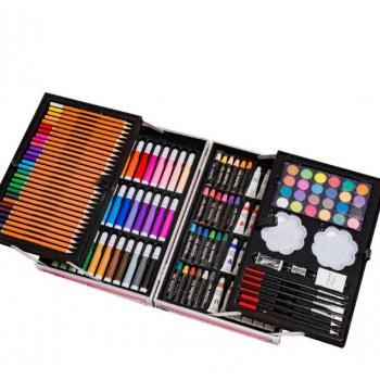 Набор художника с красками в выдвижном кейсе 200 предметов