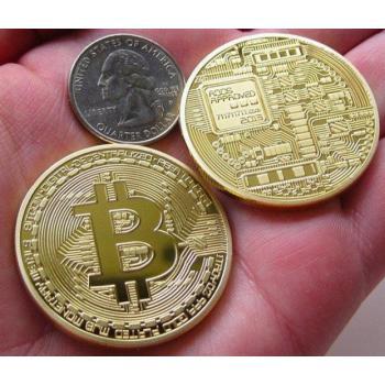 Сувенирная монета Биткоин Bitcoin