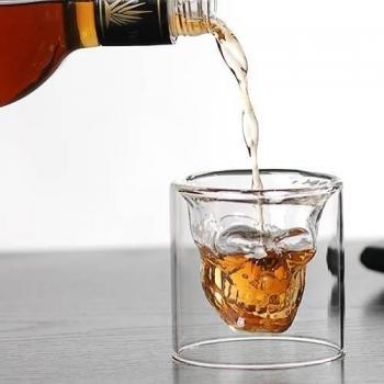 Стакан для виски Череп