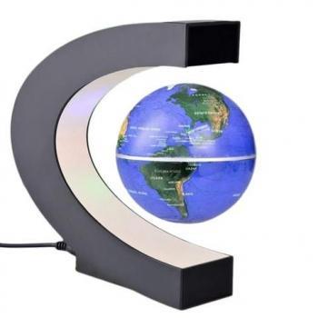 Левитрон электромагнитный глобус парящий в воздухе