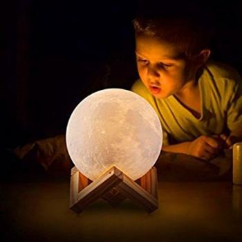Светильник! Ночник! Светодиодный шар Луна!