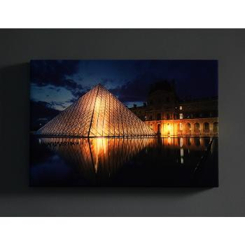 Декоративное изделие Панно со светодиодами Лувр