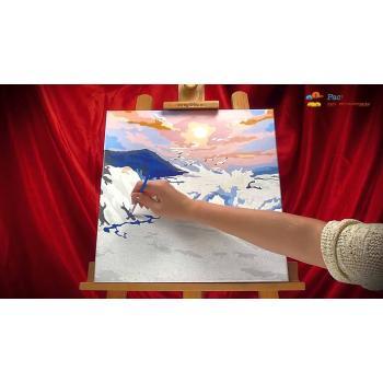 Картины-раскраски по номерам на холсте