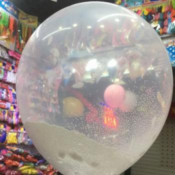 Прозрачные воздушные шары 10шт