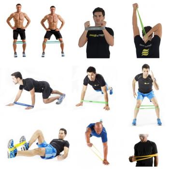 Эспандер - резиновый жгут для фитнеса