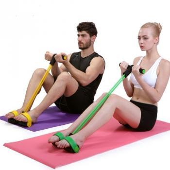 Педальный тренажер эспандер для фитнеса